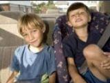 Opt copii din zece au rau de masina