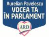 Aurelian Pavelescu -Vocea Ta in Parlament si prioritatile mele