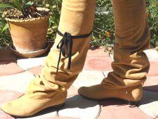 Cizmele peste genunchi, o nota eleganta a sezonului rece