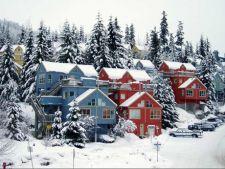 sat iarna