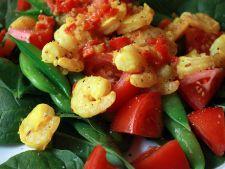 salata cu creveti si sampanie
