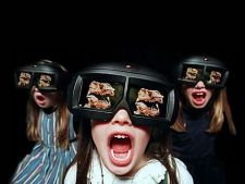 ecran 3d fara ochelari