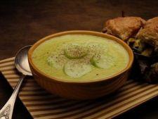 supa rece de legume verzi