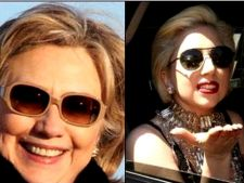 Lady Gaga vs. Hillary Clinton