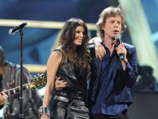 Fergie si Mick Jagger