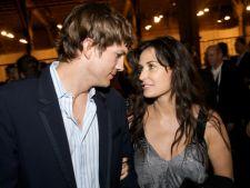 Ashton Kutcher si Demi Moore