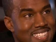 Kanye West - dantura cu diamante