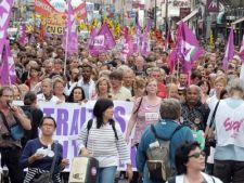 Proteste in Franta