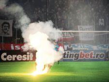 Fumigene meci Steaua- Utrecht
