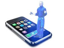 iPhone holograma