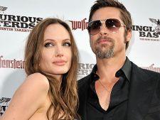 Brad Pitt si Angelina Jolie