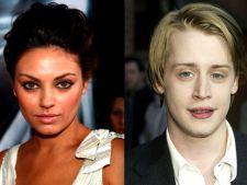 Macaulay Culkin si Mila Kunis