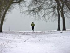 alergare iarna
