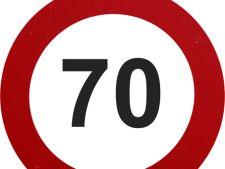 limita de viteza 70