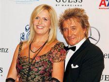 Rod Stewart si Penny Lancaster