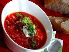 Supa Borscht cu sfecla rosie