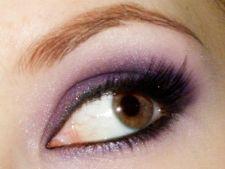 Make-up de vara pentru ochi caprui