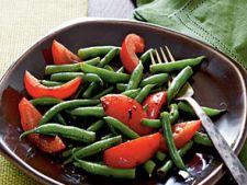 Salata de fasole verde cu rosii