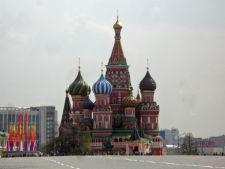 Catedrala Sfantul Vasile din Moscova aniverseaza 450 de ani
