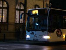 Afla care sunt traseele autobuzelor RATB ce vor circula noaptea