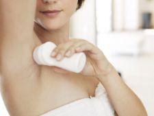 Alternative sanatoase la deodorantele cosmetice