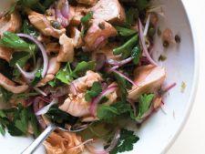 Salata de somon cu patrunjel si capere
