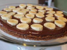 Budinca de ciocolata cu banane