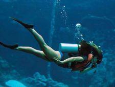 Unde poti face scuba diving