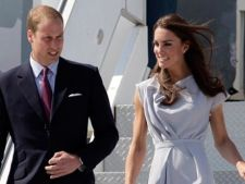 Printul William si Kate Middleton zboara cu low-cost