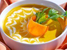 Supa de mango si pepene galben