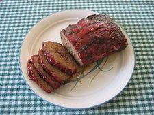 Rulada de carne cu busuioc