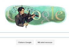 Google celebreaza nasterea lui George Enescu