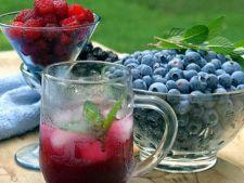 Cocktail nonalcoolic din fructe de padure