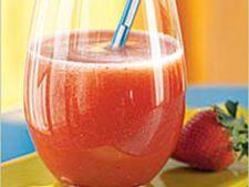 Agua de Fresa, bautura mexicana din capsuni si lime