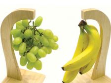 Desert cu banane si struguri