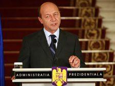 Traian Basescu a discutat despre Rosia Montana cu protestatarii de la Cotroceni