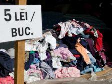 Violente la Brasov, intre inspectorii OPC si vanzatori de haine second-hand