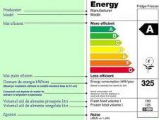 Etichetele energetice ale electrocasnicelor