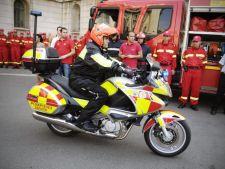 Motocicletele SMURD, din 13 septembrie pe strazile Bucurestiului