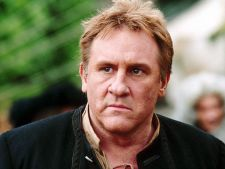 Gerard Depardieu si Harvey Keitel vor filma Ipu-Convicted to Live la Sighisoara