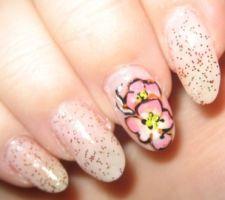 Trend alert: modelele florale pentru unghii