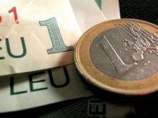 Cursul leu-euro a atins maximul anului 2011