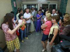 Protest la Spitalul de Urgenta din Craiova