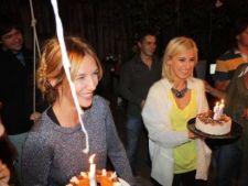 Adela Popescu si Dana Rogoz si-au serbat ziua de nastere impreuna