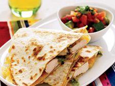 Gustari pentru copii: Quesadillas de pui