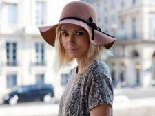 Dana Rogoz a atras privirile la Saptamana Modei la Paris