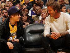 Justin Bieber, invitat la masa de David Beckham si Victoria