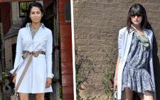 3 moduri noi de a purta camasa-rochie toamna aceasta