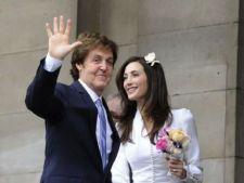 Paul McCartney s-a casatorit pentru a treia oara