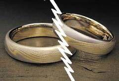 Romanii divorteaza mai des intre 30 si 40 de ani